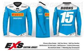 Status Light Blue - EXS Race Jersey