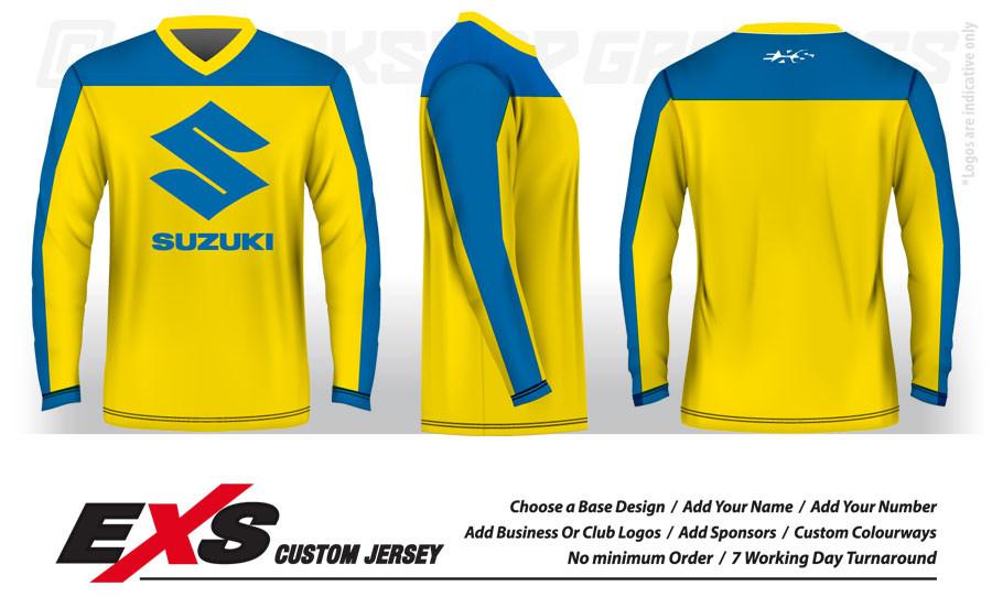 custom design mx bmx & downhill jerseys