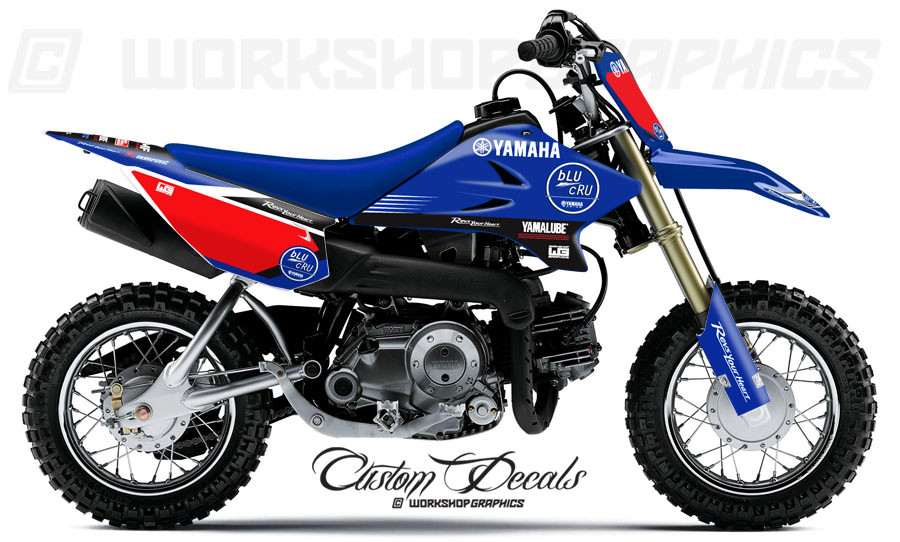 blucru graphics kit ttr 50