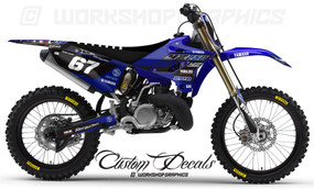 Yamaha YZ Graphics kits Seatcovers MX Decals