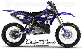 Yamaha MX Graphics Seatcovers Decals