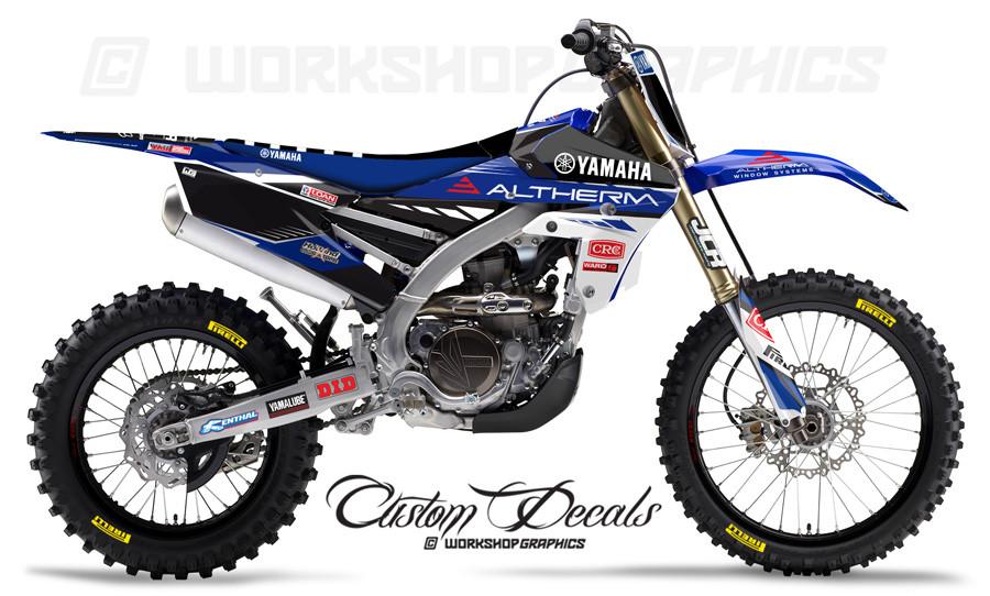 Yamaha JCR Team Graphics Kit