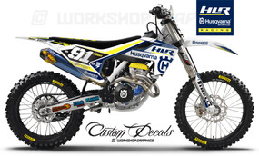 Husqvarna HLR Race team Graphics kit