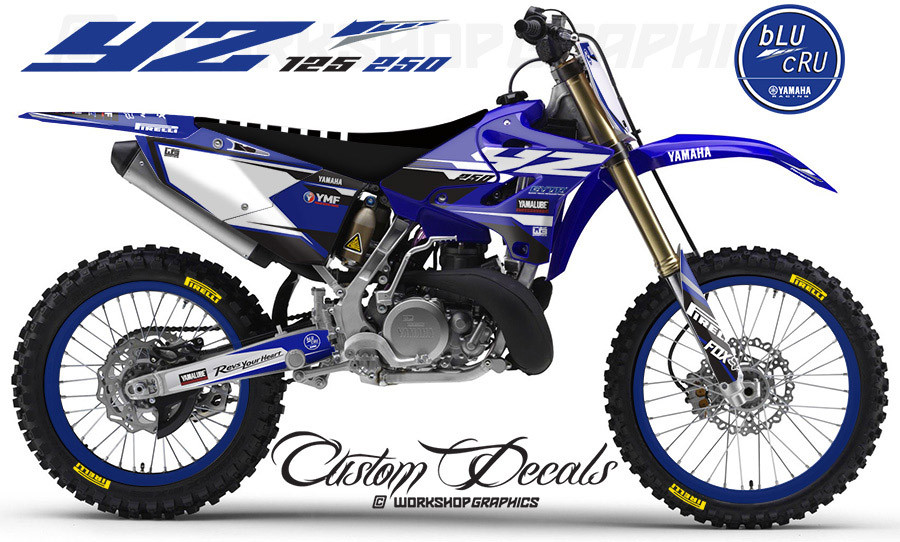 Yamaha Yz Custom Graphics
