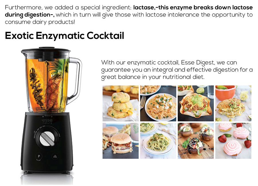 Exotic Enzymatic Cocktail