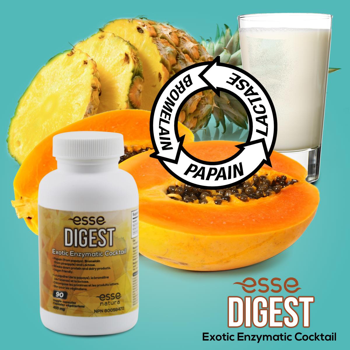 Enzymes in Esse Digest