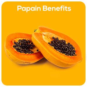 Health benefits of papain