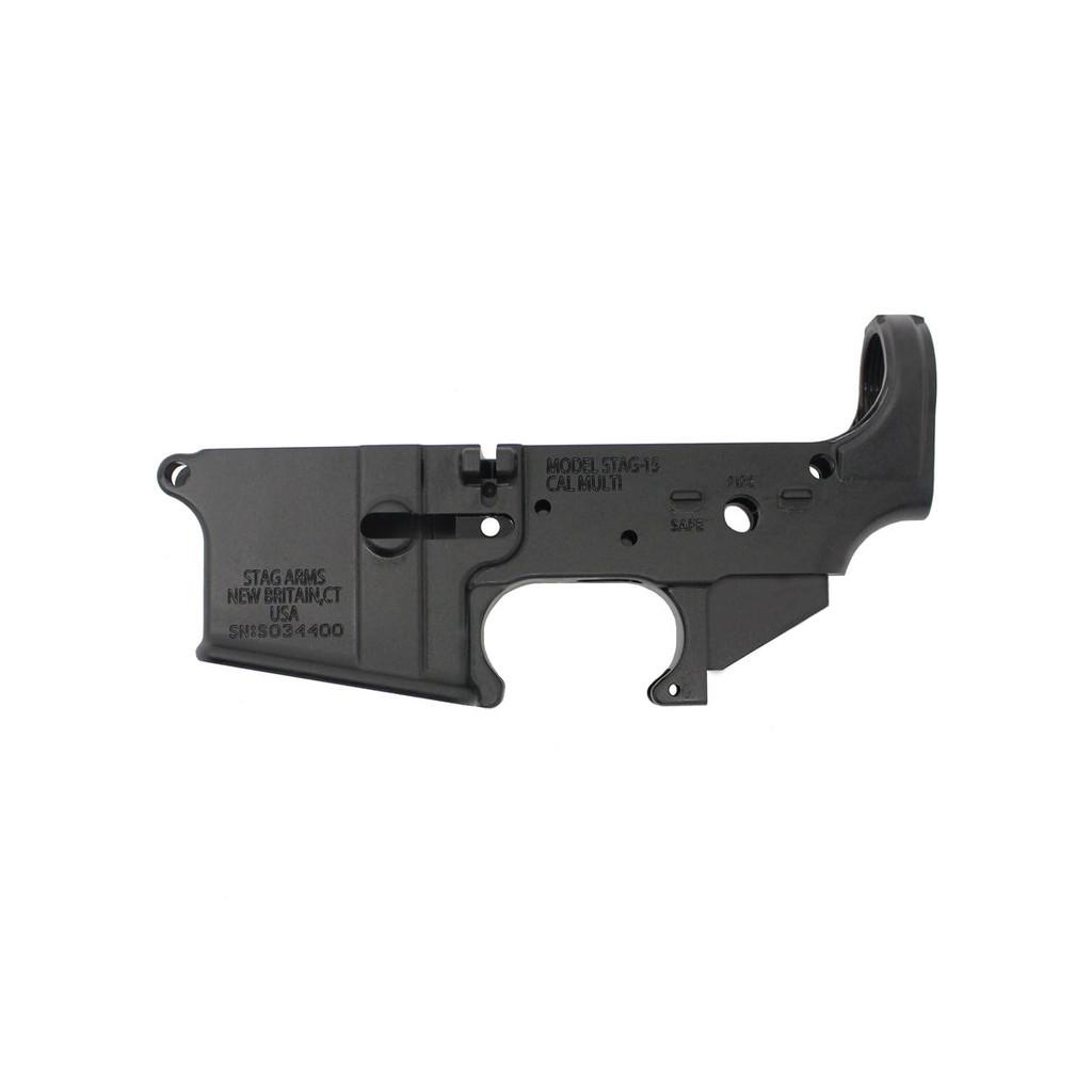 Stag Arms Logo-Less Lower Receiver - AR15 COM