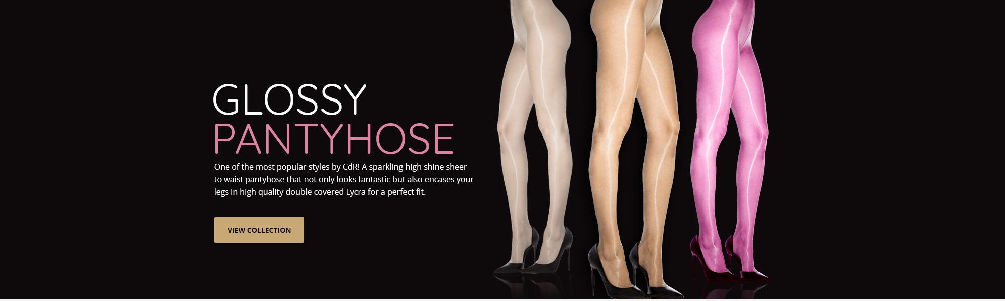 heels nylon Girdles high and stockings