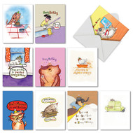 M3791BD - Kitty: Mixed Set of 10 Cards