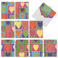 M6047VD - From The Heart: Assorted Set of 10 Cards