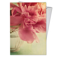 C6553BGW - Full Blooms: Greeting Card