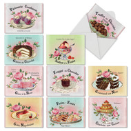 M4213TY - French Treats: Assorted Set of 10 Cards