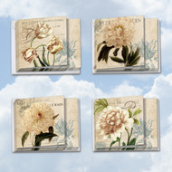 MQ4605TY - Painted Peonies: Square-Top Assorted Set of 10 Cards