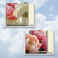 MQ4606GW - Peony Passion: Square-Top Mixed Set of 12 Cards