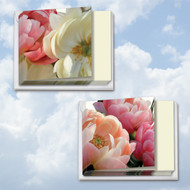 MQ4606SM - Peony Passion: Square-Top Assorted Set of 12 Cards