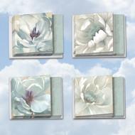 MQ4611SM - Peaceful Petals: Square-Top Mixed Set of 10 Cards