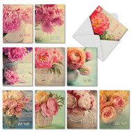 M6553GW - Full Blooms: Assorted Set of 10 Cards