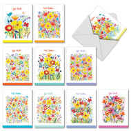 M6562GW - Garden Delights: Assorted Set of 10 Cards