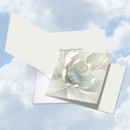 CQ4611DSM - Peaceful Petals: Square-Top Greeting Card