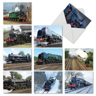 M5071OC - Do The Locomotive: Assorted Set of 10 Cards