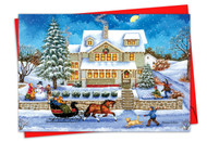 C5080JXS - Old Town: Greeting Card