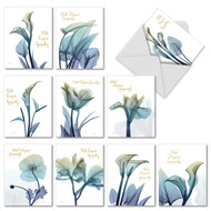 AM6221OC - Blooming Expressions: Mini Mixed Set of 10 Cards