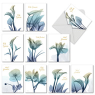 AM6221ST - Blooming Expressions: Mini Assorted Set of 10 Cards