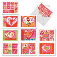 AM6725MD - Art Hearts: Mini Mixed Set of 10 Cards