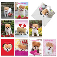 AM6754VD - Boo My Valentine: Mini Assorted Set of 10 Cards