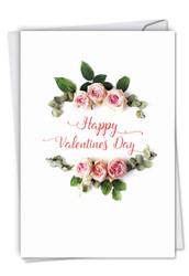 C4175AVD - Elegant Flowers: Paper Card