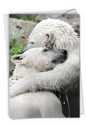 C6327BVD - Bear Hugs: Note Card