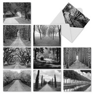 M2313 - Tree Lines: Mixed Set of 10 Cards