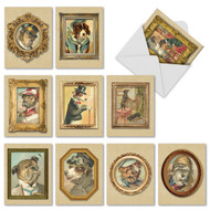 M1738 - Pup Portraits: Assorted Set of 10 Cards
