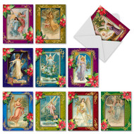 M1747 - Christmas Angels: Assorted Set of 10 Cards