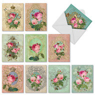 M2379TY - Romance And Roses: Mixed Set of 10 Cards