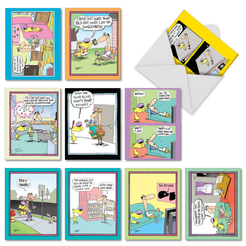 doggone funny mccoy assorted thank you card pack