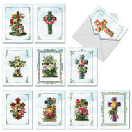M6466TY - Cross Cards: Assorted Set of 10 Cards