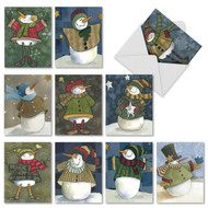 M9619XS - Frosty Friends: Assorted Set of 10 Cards