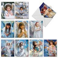 M6490TY - Angelicards: Assorted Set of 10 Cards