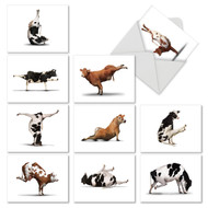 M6545TY - Bovine Nirvana: Mixed Set of 10 Cards