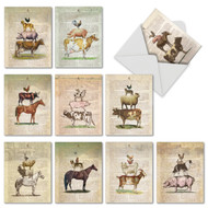 M6595TY - Farm Stand: Mixed Set of 10 Cards
