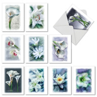 M6598SM - Blooming Memories: Mixed Set of 10 Cards