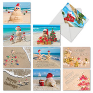 M6651XS - Season's Beachin': Mixed Set of 10 Cards