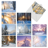 M6655XS - Christmas Sunrise: Mixed Set of 10 Cards