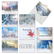 M6661XS - Holiday Devotions: Mixed Set of 10 Cards