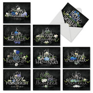 M2358HK - Chalk And Roses: Assorted Set of 10 Cards