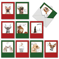 M6582XS - Holiday Dogs & Doodles: Mixed Set of 10 Cards