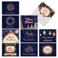 M2936XS - Festive Florals: Assorted Set of 10 Cards