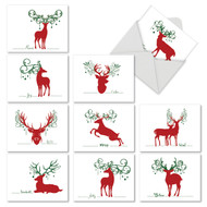 M2937SG - Seasonal Silhouettes: Mixed Set of 10 Cards
